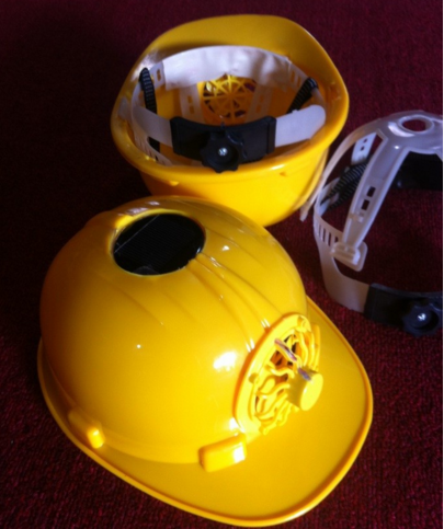Solar Safety Helmet