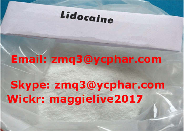 Safe Delivery Pain Killer Lidocaine, Local Anesthetic Pharma Raw Powder