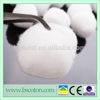 absorbent cotton wool balls