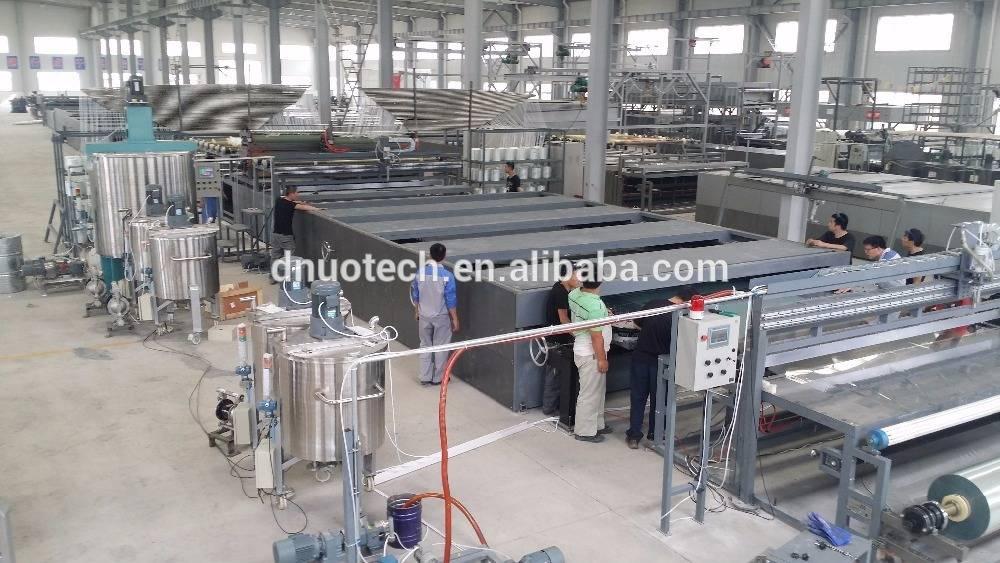 3.2m FRP gel coat flat sheet production line