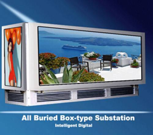 Decorative Buried Light Box Type Electric Power Transformer