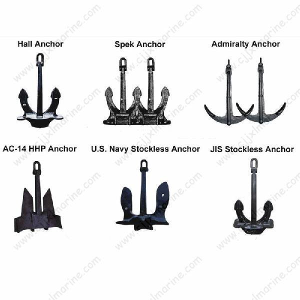 ABS CCS HHP Flipper Hall Admiralty Marine Anchor