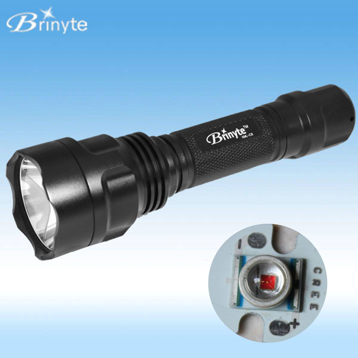 Top Quality Red Color Beam Outdoor Hunting Led Lamp