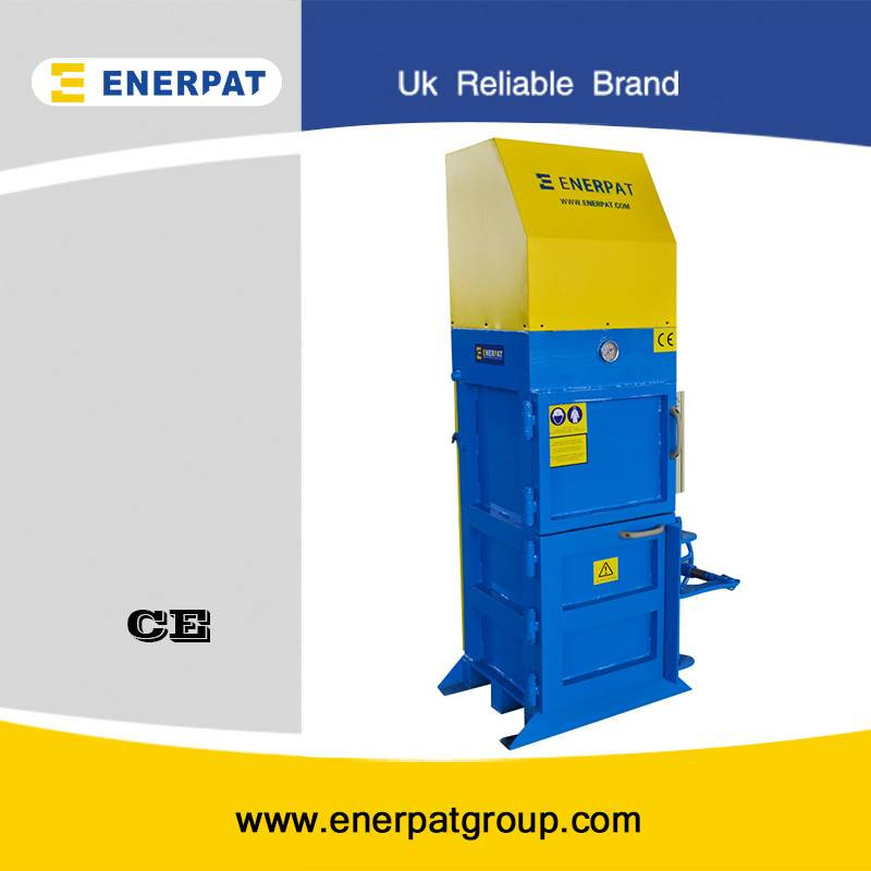 Automatic plastic bottle baler