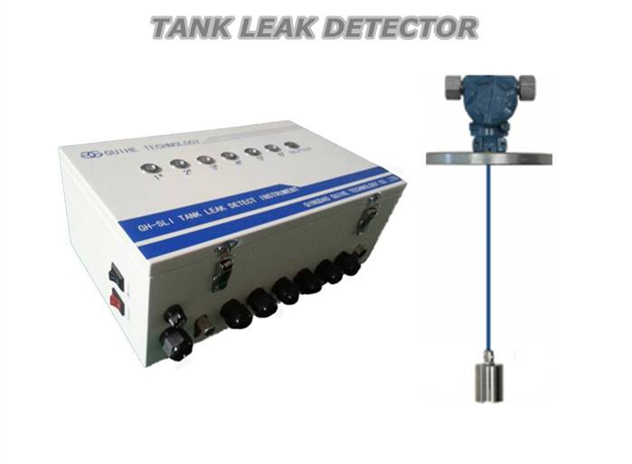Doubel wall tank lecakage detection system for petrol station