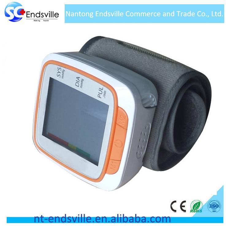 Digital wrist blood pressure monitor watch