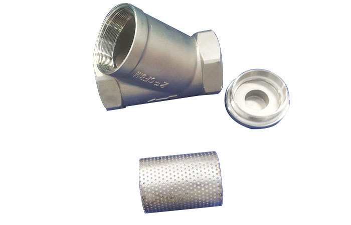Stainless steel y type filter strainer