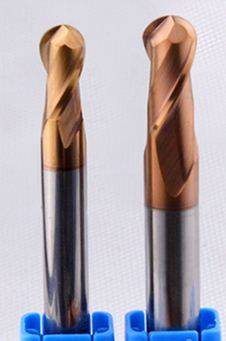 carbide milling cutting tools/ball longer 2 flut/HRC60 D6 x L75