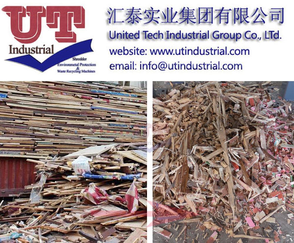 wood shredder, wood chipper, timber crusher, pallets grinder