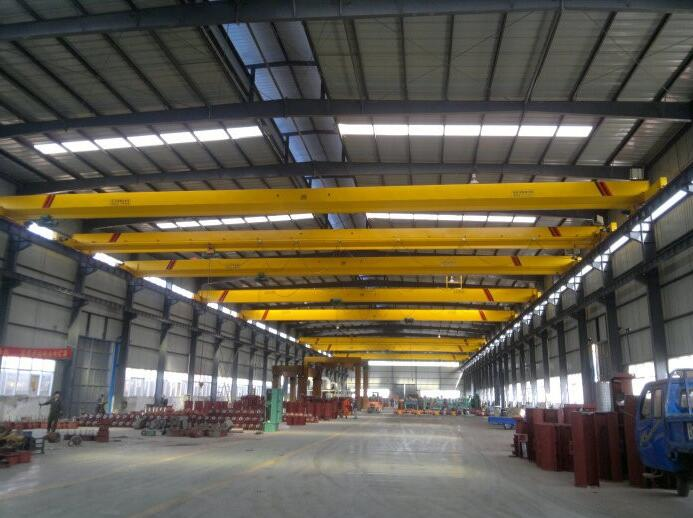 Single Girder Overhead Crane with Monorail Hoist Capacity 5 ton Price