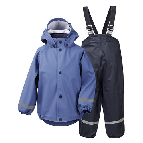 Boys Rain Jacket and Pant functional outwear chinese wholesale function jacket