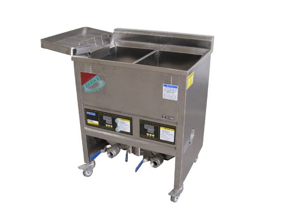 Frying Machines with Double Frying Areas