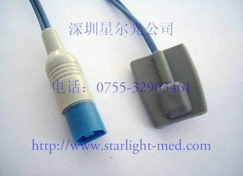 Philips/HP Pediatric silicone soft tip spo2 sensor
