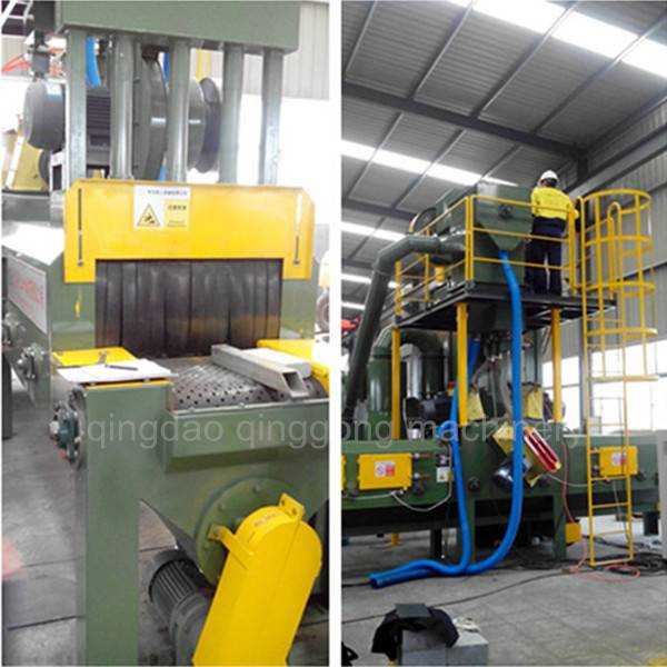 High Efficiency Marble Cleaning Shot Blasting Machine for sale
