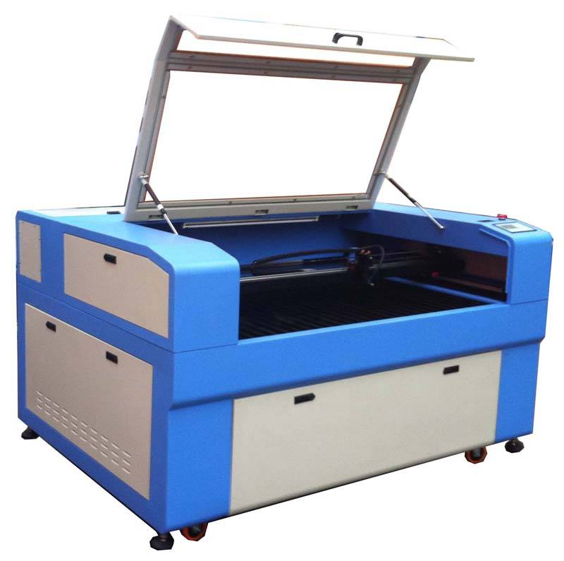 China new design 80W CO2 laser engraving cutting machine, 1300*900mm working table for sale