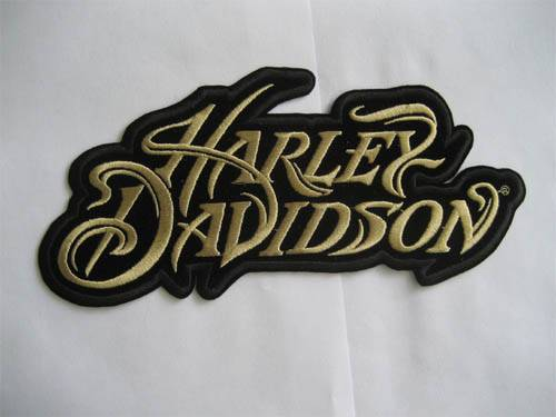Harley Words Patch