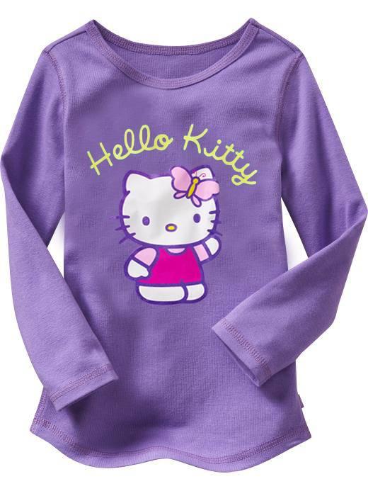 hello kitty children t-shirt