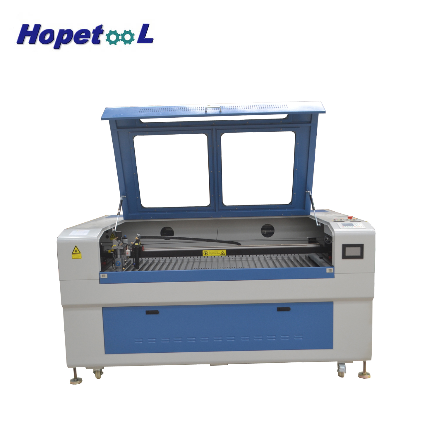 1390 mixed two heads laser engraving machine price water cooling can customer
