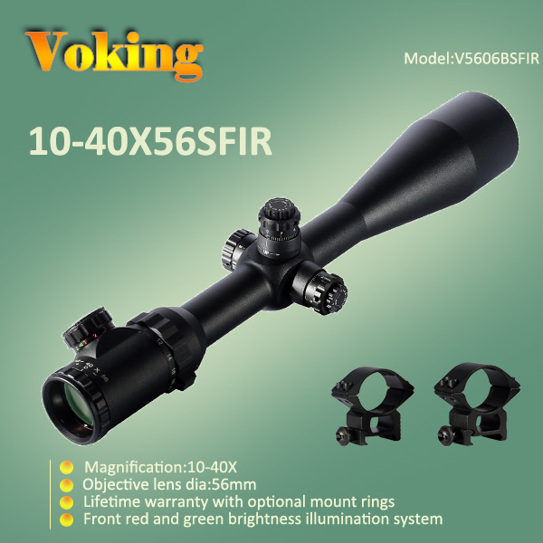 Voking 10-40X56 SFIR magnifier scope with your own APP