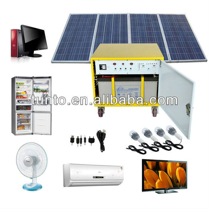off grid solar system kits 1000W