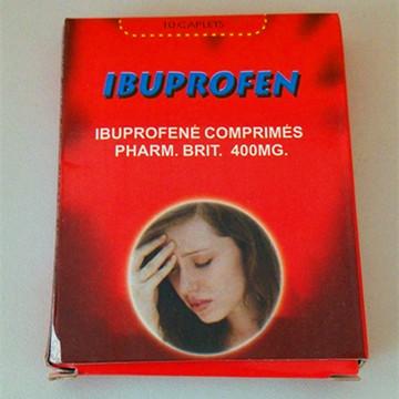Ibuprofen Tablets 200mg/400mg/600mg/800mg GMP