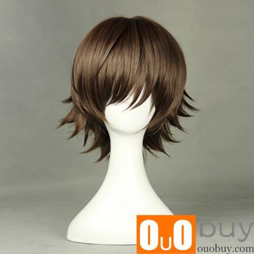 Junjou Romantica Misaki Takahashi Light Brown Short Cosplay Wig