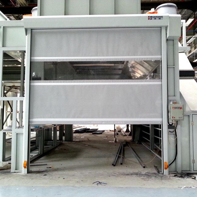 Explosion-Proof PVC high speed door