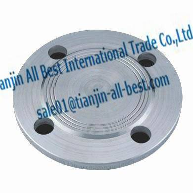 Blind flanges forged stainless ANSI B16.5