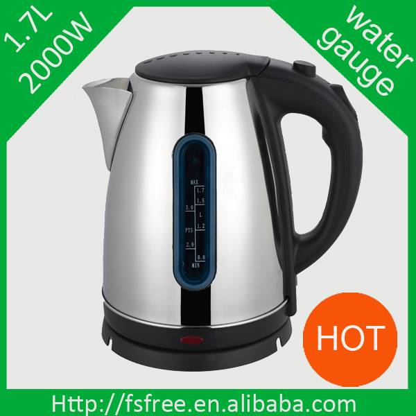Stainless steel electric kettle hotel kettle
