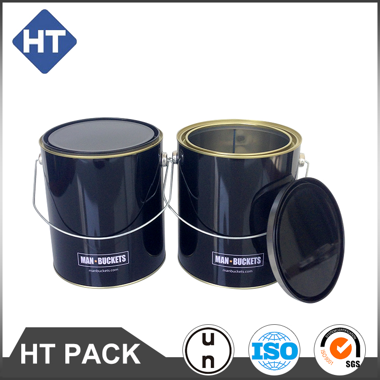 4 liter Lever Lid Cans.1 gallon Round Paint Cans.
