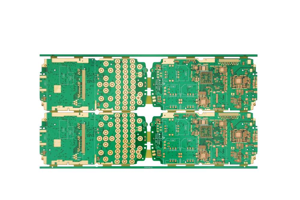 MKTPCB 4layers via-hole cell phone pcb board