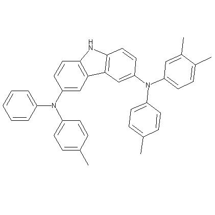 N-(3,4-Dimethyl-phenyl)-N'-phenyl-N,N'-di-p-tolyl-9H-carbazole-3,6-diamine