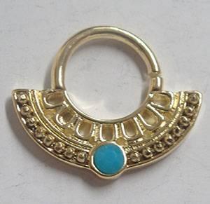 septum nose ring body piercing jewelry