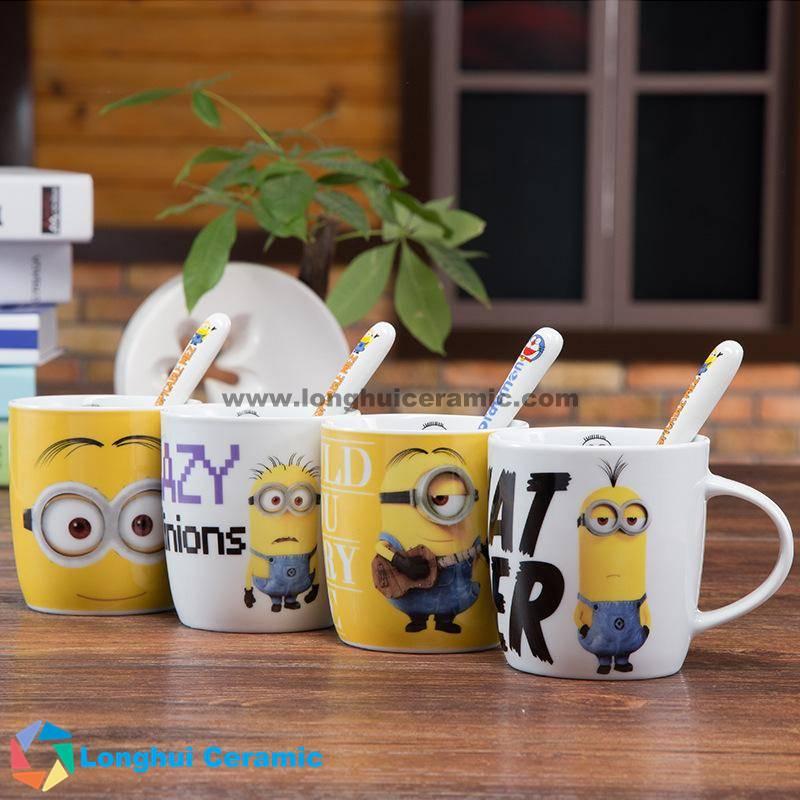 Minions series ceramic coffee mug