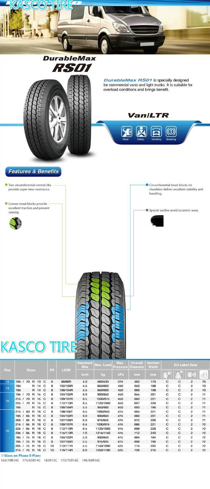 PCR-Light truck tire