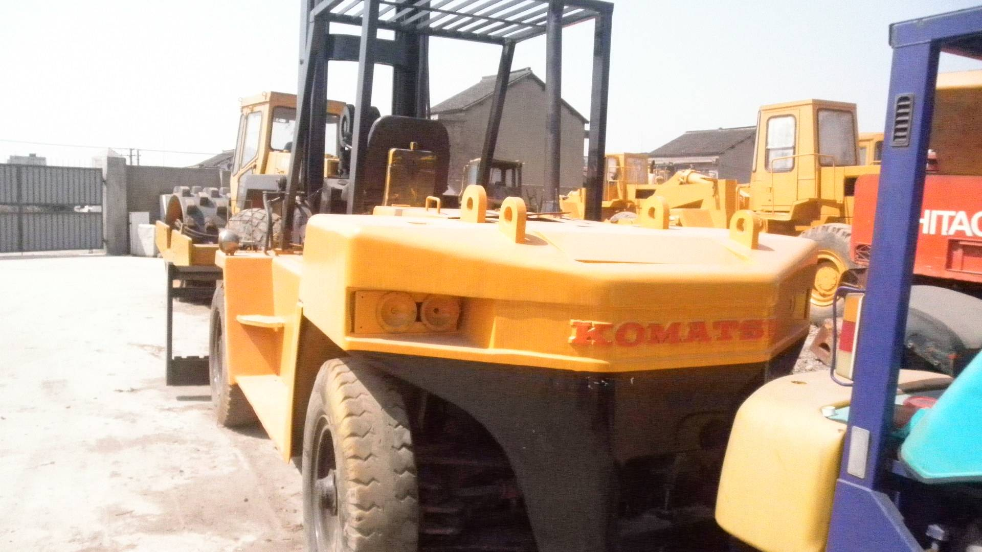 Used Komatsu 10ton Forklift Original from Japan for sale