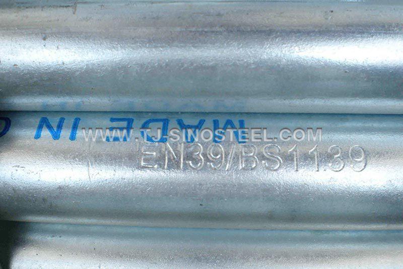 EN39 Scafffolding Tube