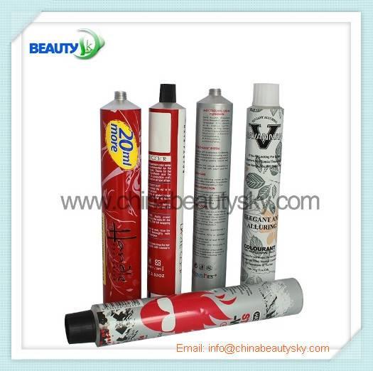 Hair dye tube in 32175mm 100ml