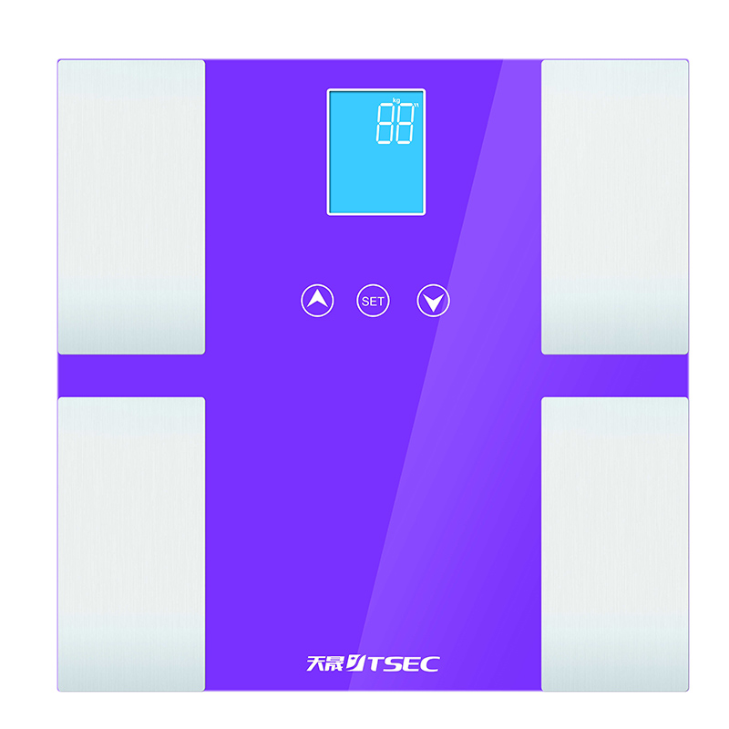 New Design Digital Bathroom Scale with Memory Function LCD Display