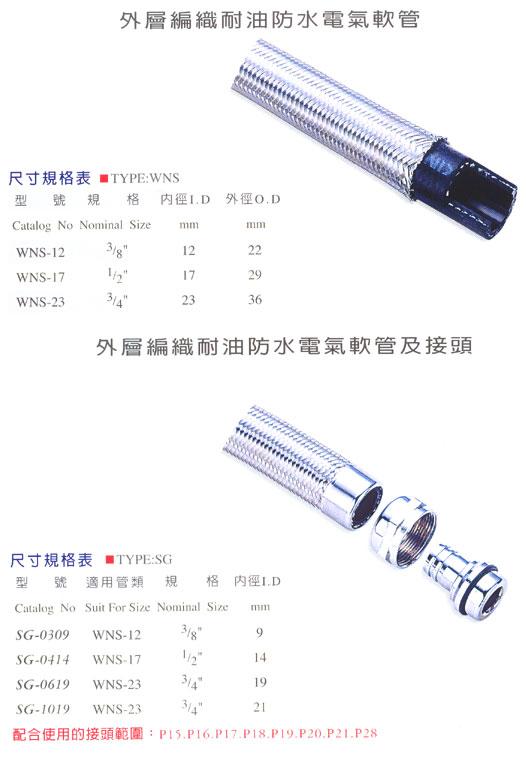 Braided Flexible Conduit   ( WNS )