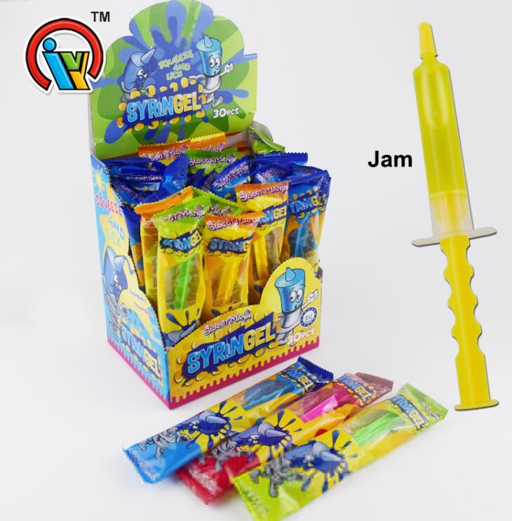 Fruit Jam Syringe Candy / Injection Jam