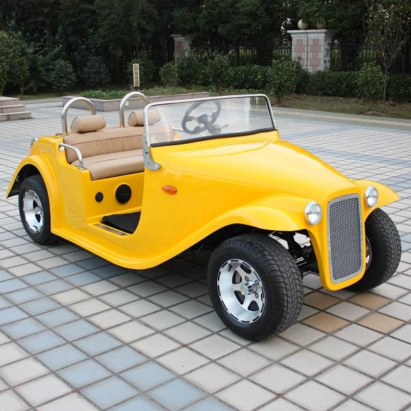 4 seater electric classic sightseeing car