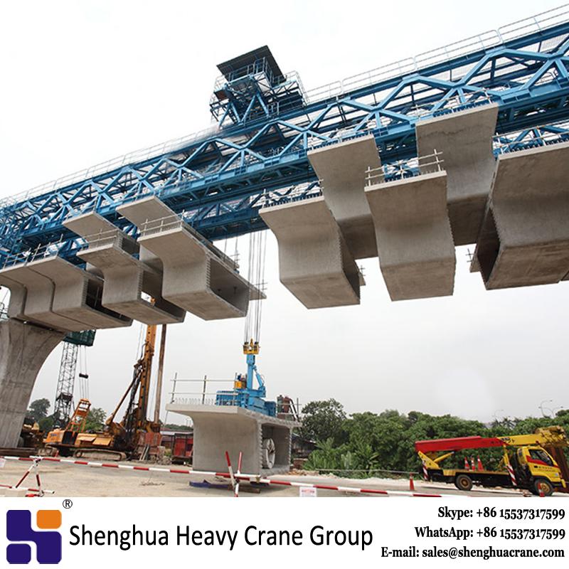 MRT expressway interchange bridge girder segmental launching gantry crane manufacturer China