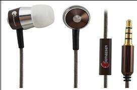 Homeesen EP341M Metal Earphone/Headphone ,In-ear Metal Earphone,Headphone with Microphone