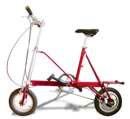 aluminum folding bicycle