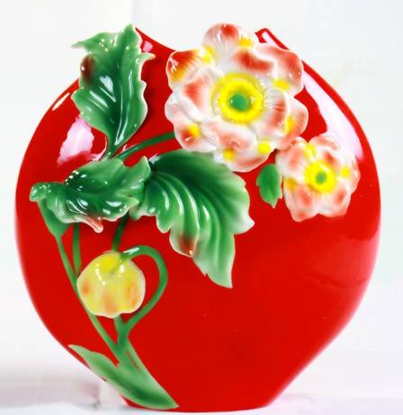 High-grade ceramic crafts,Gift porcelain vase