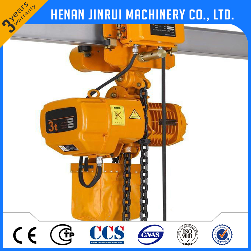 mobile chain hoist lifting height 6m made in china