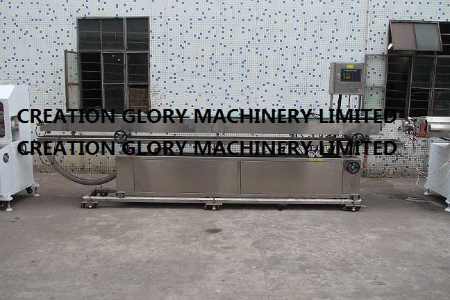 Stainless steel vacuum calibration water tank for plastic extrusion line