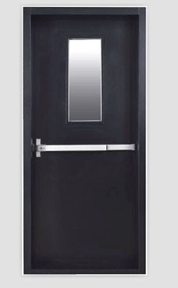 Glass fire doors with FM certificate for 1.5 hours fire rated