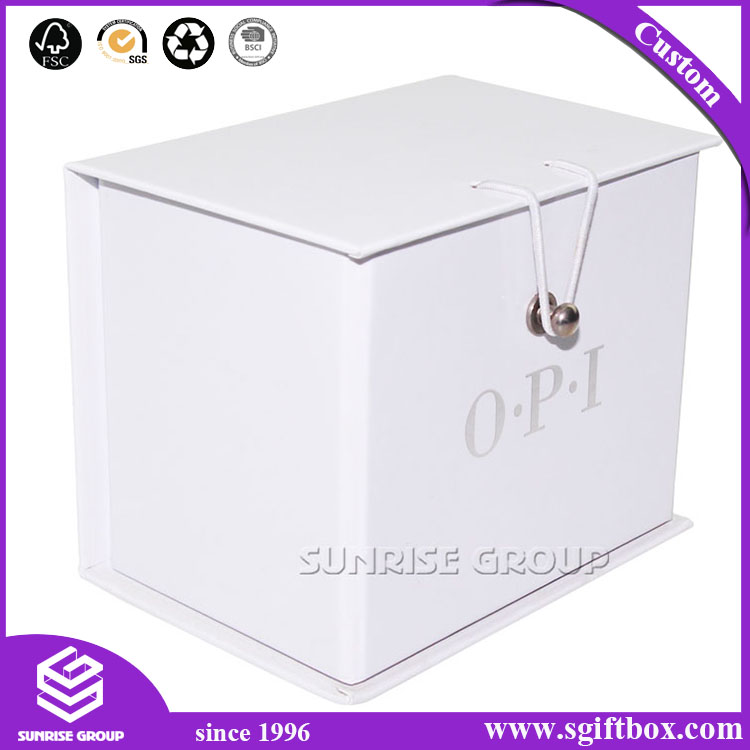 Gold Foil Custom Printing Special Packaging Paper Foldable Box
